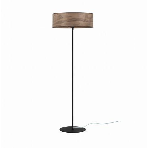 Tsuri XL 1_F Podłogowa Sotto Luce orzech (drewno naturalne) czarny czarny (5902429655203)