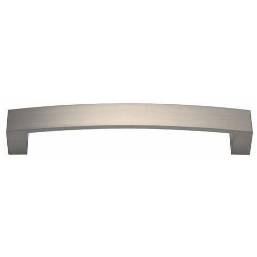 Uchwyt meblowy Gamet rozstaw 128 mm nikiel szczotkowany, UU24-0128-G0007-SU