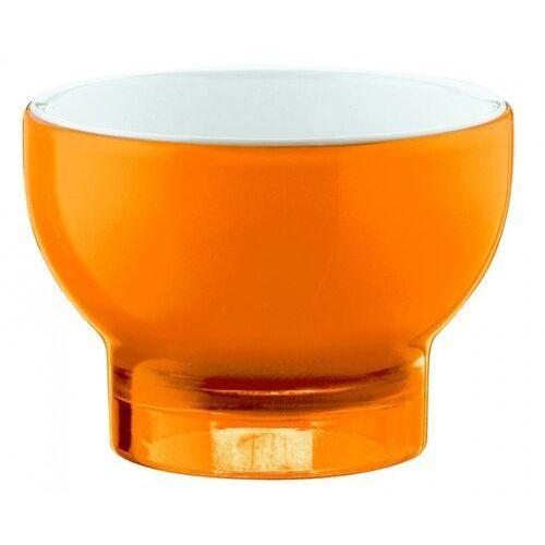 Pucharek do lodów vintage, pomarańczowy marki Guzzini