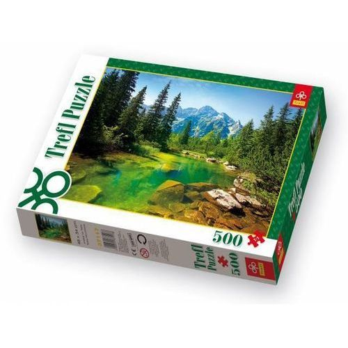 Puzzle 500 widok na tatry marki Trefl