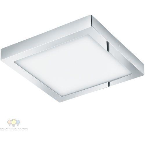 Plafon Eglo Fueva 1 96247 lampa sufitowa ścienna 1x22W LED IP44 chrom / biały (9002759962470)