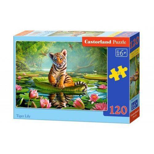 120 elementów tygrysek i lilie wyprodukowany przez Castor