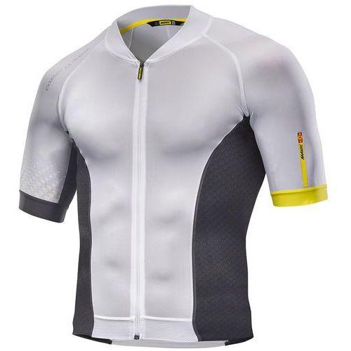 Męska koszulka cosmic ultimate jersey white/black rozmiar m marki Mavic