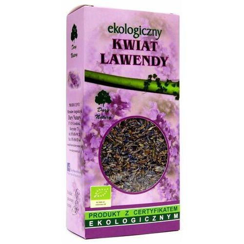 Dary natury - test Herbatka z kwiatu lawendy bio 50 g - dary natury (5902741001191)