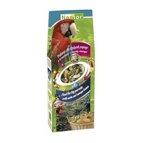 pokarm papuga duża orzechy, fasola mungo 700ml, marki Nestor