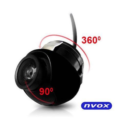 Nvox  samochodowa kamera cofania obrotowa o 360 stopni 12v