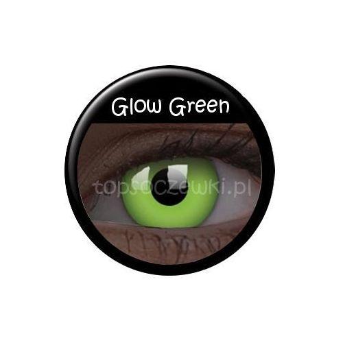 Crazy Glow w UV Green - 2 sztuki - produkt z kategorii- Soczewki kontaktowe