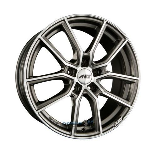 Aez raise gunmetal polished einteilig 8.00 x 18 et 45