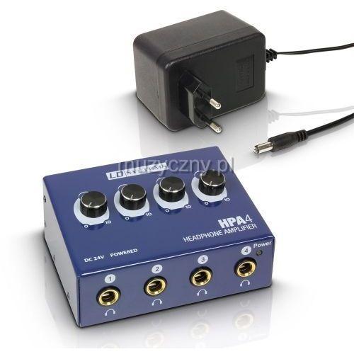 LD Systems HPA4 wzmacniacz słuchawkowy 4-ch