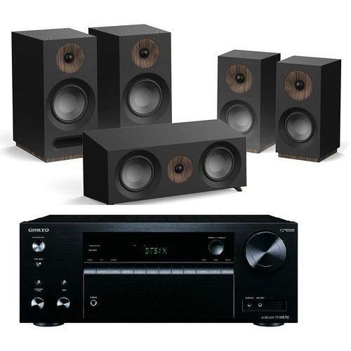 Kino domowe ONKYO TX-NR575E + JAMO S 803 HCS Czarny, TX-NR575B/S803HCS CZ