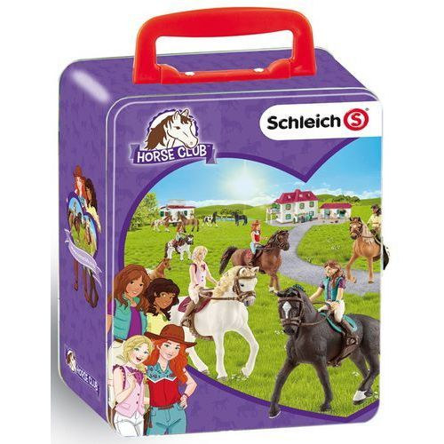 Klein blaszany kuferek Schleich - konie (4009847031150)