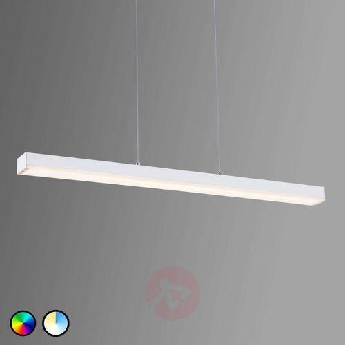Lampa wisząca leuchten wiz livaro led biały, 1-punktowy, zdalne sterowanie, zmieniacz kolorów - nowoczesny - obszar wewnętrzny - livaro - czas dostawy: od 3-6 dni roboczych marki Trio