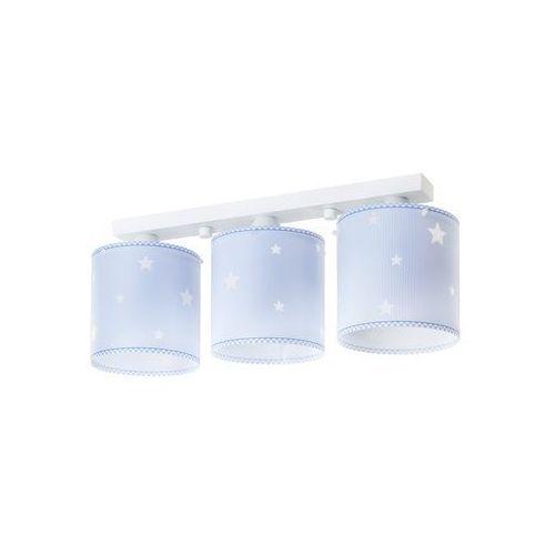 Dalber Klik 62013t - lampa sufitowa dziecięca sweet dreams 3xe27/60w/230v (8420406802343)
