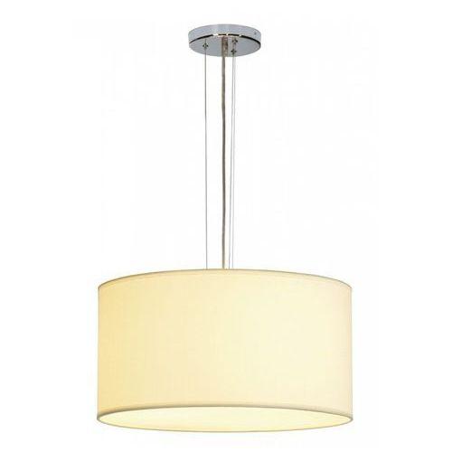 Soprana lampa wisząca pd-5, okrągły, biała tkanina, 3x e27 marki Slv