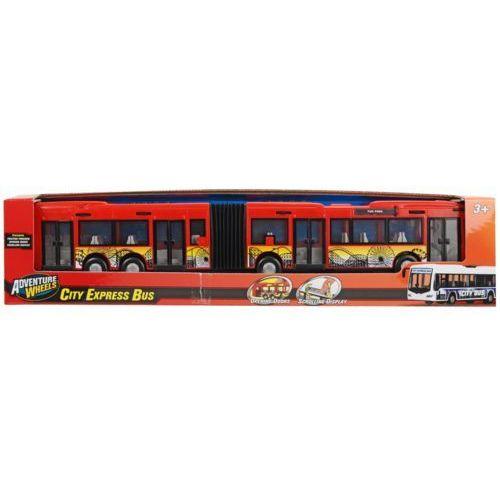Dickie, City Express, Autobus, pojazd, czerwony, kup u jednego z partnerów