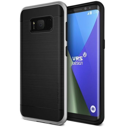 Etui VRS Design High Pro Shield Galaxy S8 Light Silver (8809477685787)
