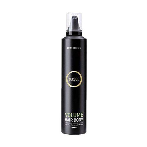 Montibello Volume Hair Body, mocna pianka nadająca objętości, utrwala oraz nawilża 300ml (8429525415137)