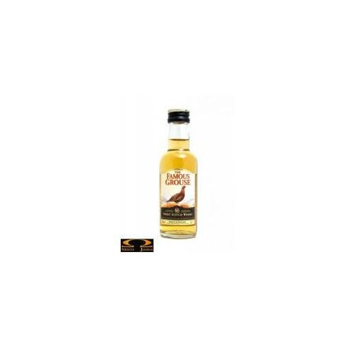 Whisky The Famous Grouse Miniaturka 0,05l, 3144