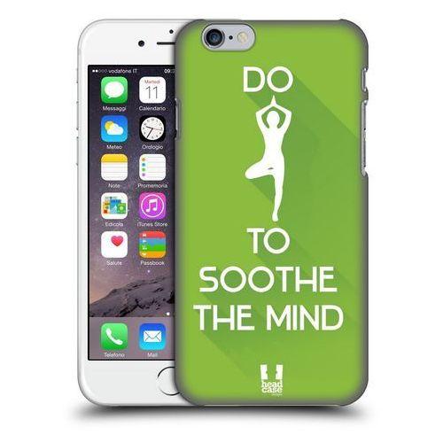 Head case Etui plastikowe na telefon - workout inspirations green yoga