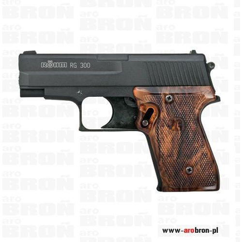 Röhm Pistolet hukowy rohm rg-300 czarny kal. 6mm