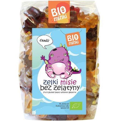 Żelki (misie) bez żelatyny bio 400 g - biominki marki Biominki (przekąski dla dzieci)