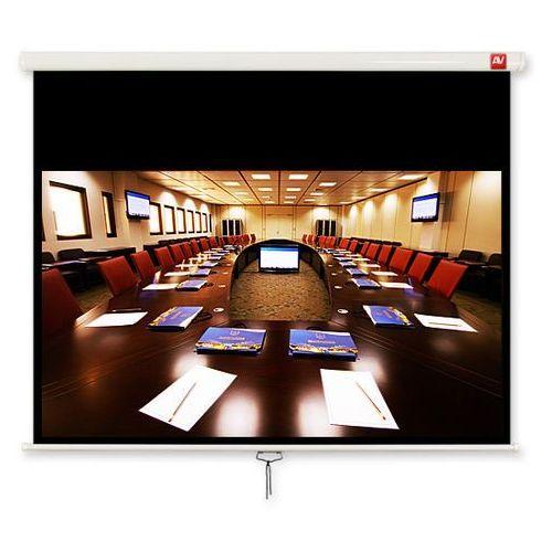 Vidis Ekran ścienny 240x200cm avtek business 240 - matt white (ramki + top 51cm, obraz 230x144cm)