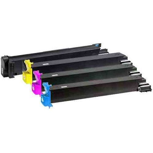 Toner Konica Minolta komplet MagiColor QMS 7450 CMYK 15k + 3*12k Standard zamiennik