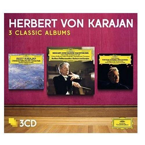 3 CLASSIC ALBUMS: MOZART, BIZET, RESPIGHI - Herbert von Karajan (Płyta CD), 4793446