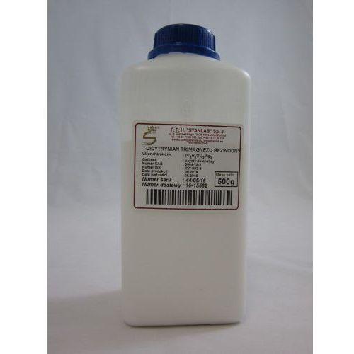DICYTRYNIAN TRIMAGNEZU BEZWODNY CZDA (Cytrynian magnezu) 500g STANLAB