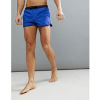 adidas Swim Shorts With Split In Blue CV5129 - Blue, kolor niebieski