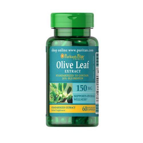 Liść oliwny ekstrakt 150mg Olive leaf extract 60 kapsułek Puritan's Pride - sprawdź w wybranym sklepie