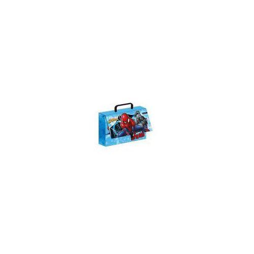 Teczka z rączką - walizeczka 9 cm spider man marki Beniamin