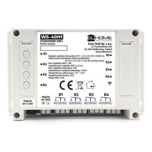 Eura-tech EL Home WS-40H1 - 4-kanałowy przełącznik WiFi / RF 433MHz