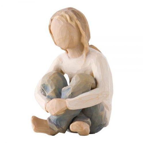 Dziecko pielęgnowane przez twoją troską pełną miłości spirited child 26224 susan lordi marki Willow tree
