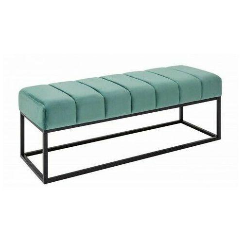 Producent: elior Jasnozielona tapicerowana ławka do przedpokoju - linus