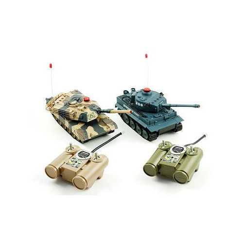 Zestaw czołgów rc zdalnie sterowanych od producenta Import