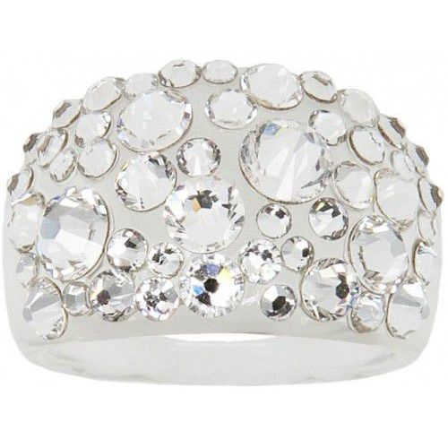 pierścień bubble crystal (obwód 59 mm) marki Troli