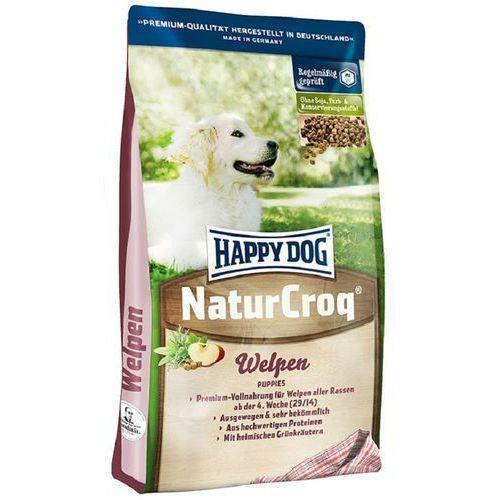 naturcroq szczeniaki 4 kg- rób zakupy i zbieraj punkty payback - darmowa wysyłka od 99 zł marki Happy dog