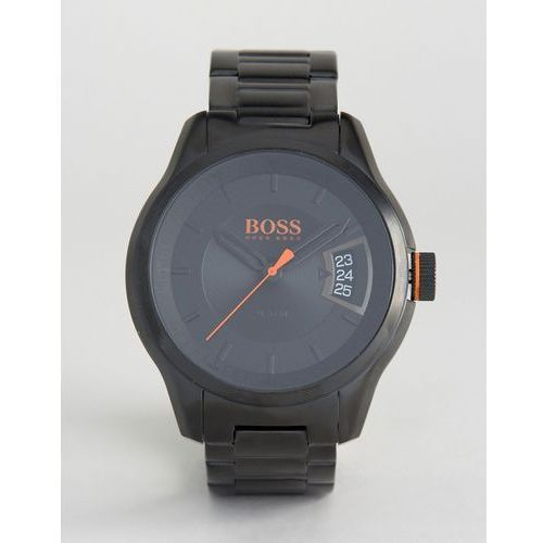 BOSS Orange By Hugo Boss Hong Kong Sport Bracelet Watch In Black 1550005 - Black