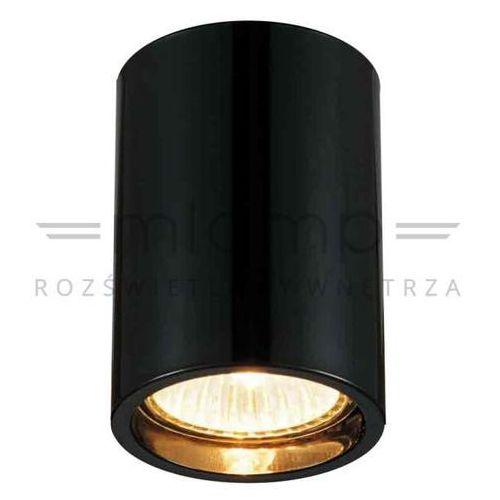 Orlicki design Downlight lampa sufitowa kika pl/120 metalowa oprawa spot tuba czarny chrom