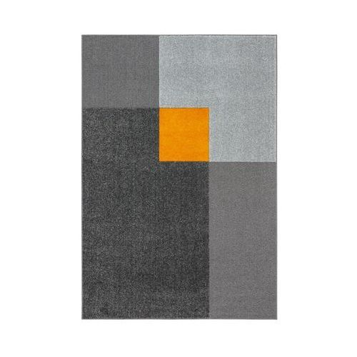 Dywan nelio stalowo-żółty 133 x 190 cm marki Agnella