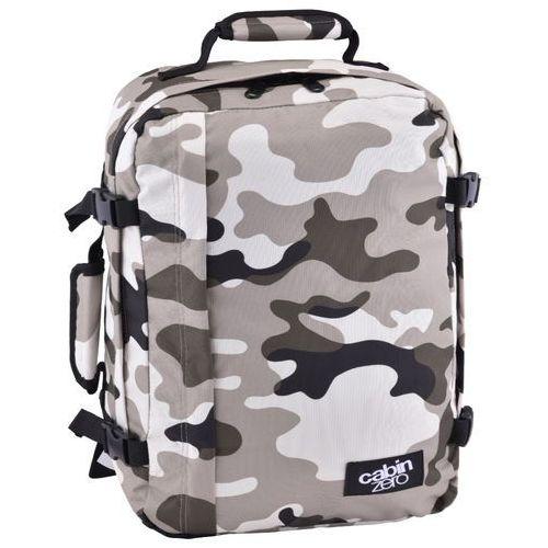 Cabinzero classic 36l torba podróżna podręczna / kabinowa / plecak / grey camo - grey camo