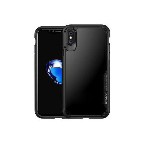 Etui iPaky Case Apple iPhone X Xs Czarne, kolor czarny