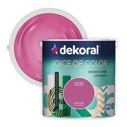Dekoral Farba voice of color różowe okulary 2,5 l