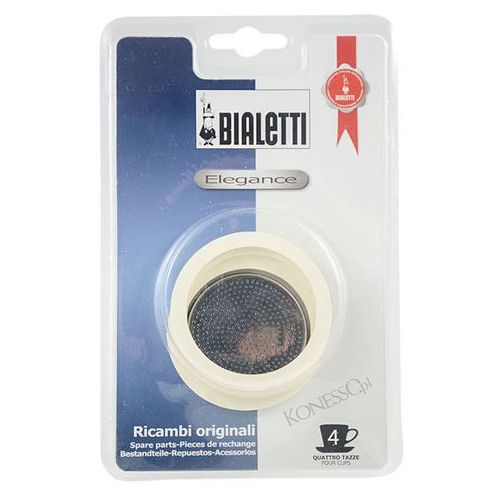 Uszczelki Bialetti do kawiarek stalowych 4 filiżanki (8006363011136)