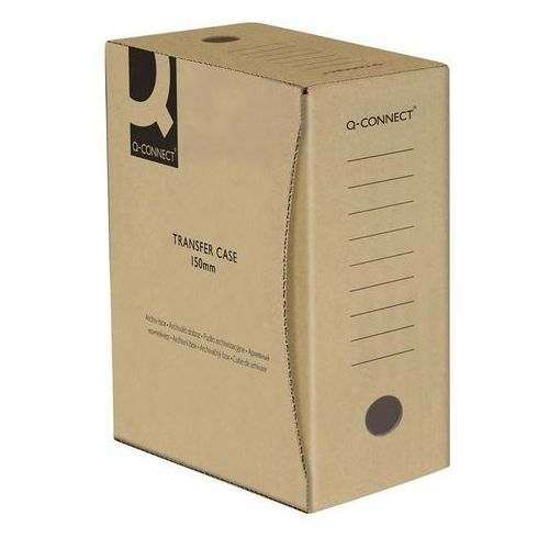 Pudło archiwizacyjne , karton, a4/150mm, szare marki Q-connect