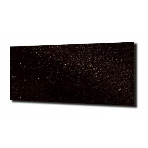 obraz na szkle Brokat złoty czarne tło, E974