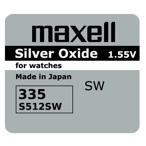 bateria srebrowa mini Maxell 335 / SR 512 SW