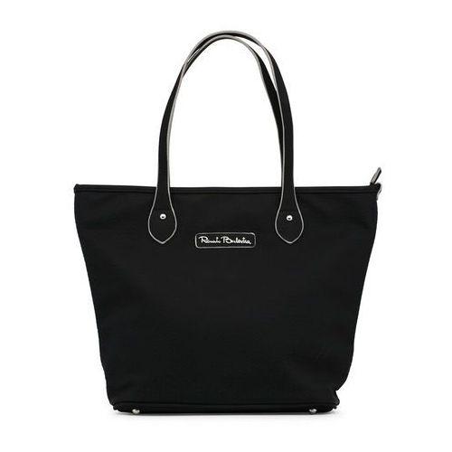 Torebka shopper damska RENATO BALESTRA - PEARLJAM-RB18S-102-6-99, kolor czarny