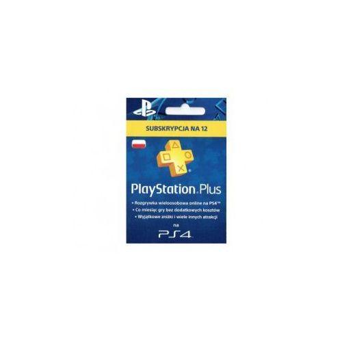 Sony Playstation plus - abonament na 365 dni